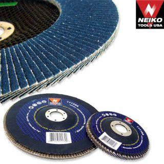 80 Grit Neiko Flap Sanding Discs Zirconium Bevel Grinding Wheels