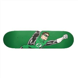 Green Lantern Fly Right Skate Board Deck