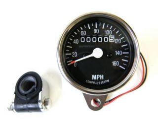 2240 60 Mini Speedometer for Harley Softail FXWG 81 95