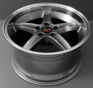 10 Gunmetal Cobra Deep Wheels Rims Fit Mustang® GT 94 04