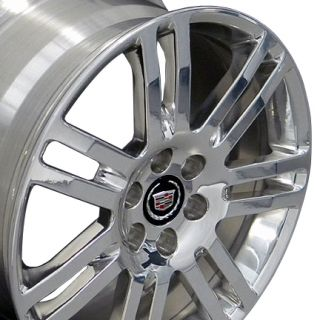 18 Rims Cadillac SRX Wheels 4637 Polished 18x8 Set