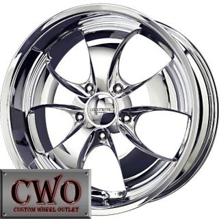 20 Chrome LM Lithium 5 Wheels Rims 5x115 5 Lug Charger Challenger 300