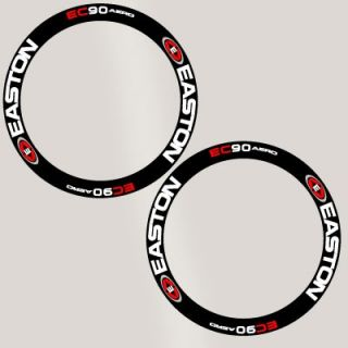 Easton EC90 Deep Rim Carbon Wheel Decal Sticker Kit