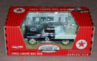 Gearbox Texaco Black 1955 Chevy Bel Air Limited Edition Die Cast Coin
