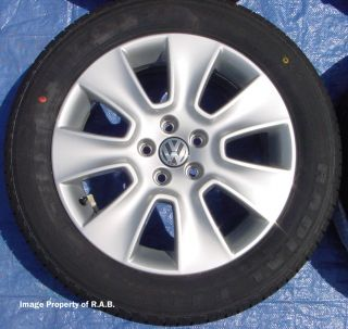 VW Beetle Factory Wheels with New Tires Jetta Golf GTI