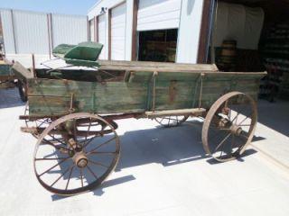 Horse Drawn Wagon Farm Wagon Display Wagon Harvest Wagon Antique Wagon