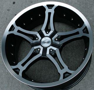 RVM 493 20 Black M Rims Wheels Explorer Sport Trac