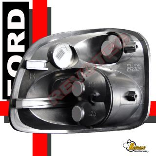 97 98 99 00 Ford F 150 Pickup Stepside Halo Projector Headlights Tail