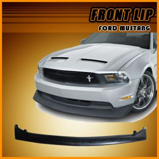 10 12 Ford Mustang GT V8 Type B Front Bumper Lip Spoiler Poly Urethane