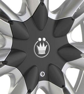 Konig Random 19x9 5 10x112 114 3 ET40 Silver Wheels Fit A4 A5 TT CC