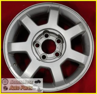 03 04 Cadillac cts 16 5x115mm Silver 7 Spoke Wheel Used Factory Rim