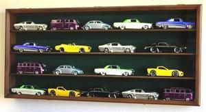 24 Scale Diecast Model Car Display Case Rack Holder Holds 20 Cars