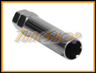 Muteki Gorilla 6 Spline Wheels Rim Lock Lug Nuts Replacement Key 1 5 1