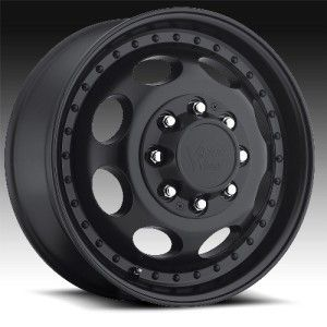 19 inch Vision Hauler Dually black wheel rim 8x6.5 RAM 2500 + 3500