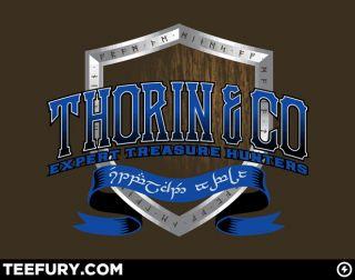 NEW RARE OOP TeeFury WM Expert Treasure Hunters Hobbit LOTR Lord Rings