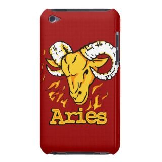 Aries The Ram zodiac red ipod case Barely There iPod Cases
