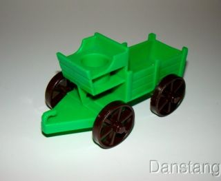 Vintage Fisher Price Little People Western Buckboard Wagon 934 Western