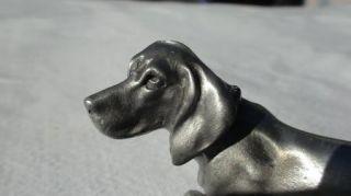 Hudson Pewter Dachshund Dog 131