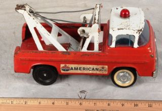 L133 Vintage 1963 Nylint Ford Econoline American Wrecker Tow Truck