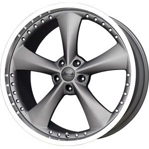 New 20x11 5x114 3 Bravado Americana Gun Metal Wheels Rims