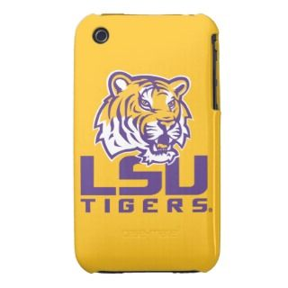 Tiger Head   LSU Tigers iPhone 3 Case Mate Cases