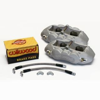 Wilwood Brake Caliper Dynalite Aluminum Clear 4 Piston Chevy Corvette