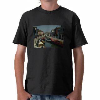 Canal on Murano Island, Venice, Italy T Shirts