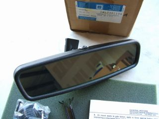 GM Cadillac Pontiac Buick Gentex 126 New Auto Dimming Rear View Mirror
