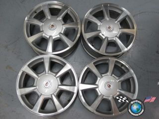 Four 08 09 Cadillac CTS STS Factory 17 Wheels OEM Rims 4623 5x120