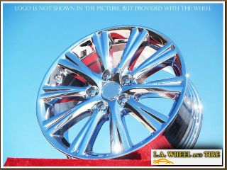 NEW 17 LEXUS ES350 OEM CHROME WHEELS RIMS ES330 ES300 EXCHANGE 74191