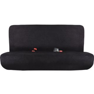 Pilot Automotive SC 342E Universal Black Microsuede Bench Seat Cover