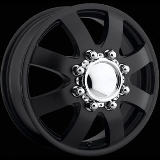 17x6 5 Black American Eagle 97 Dually Front Wheels 8x6 5 109 Chevrolet