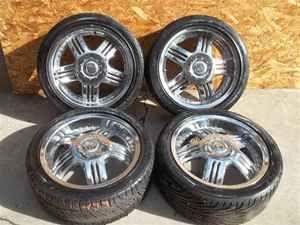 Aftermarket 18 Wheels 5 Double Spoke 5 Lug 4 1 2