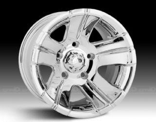 15 inch ion 138 Chrome Wheels Rims 6x5 5 Censor Sle Safari Savana Van