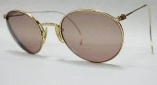 American Optical AO Ful Vue 12K Gold Filled Glasses Frames Round RARE