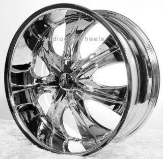 22 Wheels Rims Chevy Ford Escalade GMC Tahoe F150