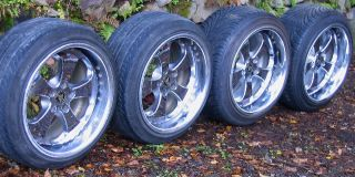 Enkei ABC 18 10J 11J Alloy Wheels Rims 5x114 Supra 350Z Lancer s14