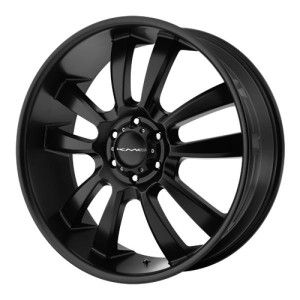 24 inch KMC Black Wheels Rims 6x5 5 6x139 7 Hummer H3 Savana Van