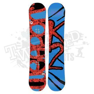 New 2011 K2 WWW World Wide Weapon Rocker Snowboard   155 cm