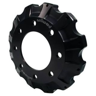 Wilwood Brake Rotor Hat HD Fixed Mount Aluminum Black 4x3 94 Bolt