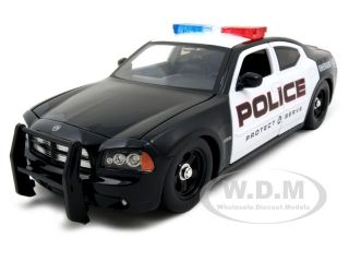 2006 Dodge Charger R T Police 1 24 Jada w Stock Rims
