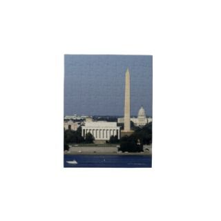 Washington DC Skyline with US Capitol Building 2 Puzzle