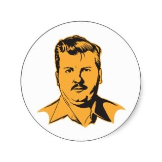 John Wayne Gacy Portrait Sticker
