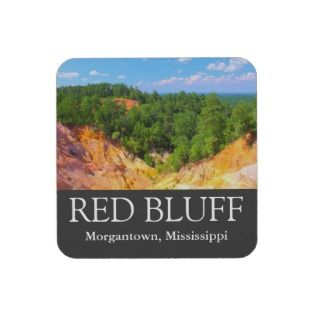 Red Bluff   Little Grand Canyon   Cork Coasters