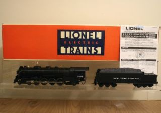 Lionel O Scale New York Central 4 8 2 Mohawk L 3 Class Locomotive 6