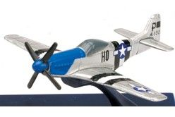 Ray Sky Pilot Mini WWII Fighter Jet P 51D Mustang 1 160 Scale