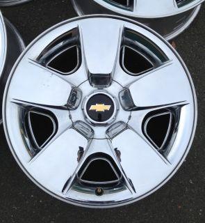 Silverado Suburban Chrome Clad Texas Edition 20 Wheels 20x8 5