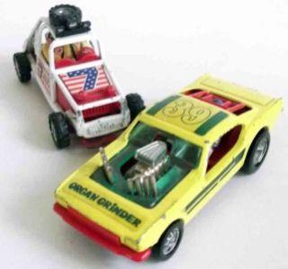 1970s CORGI WHIZZWHEELS 166 MUSTANG DRAGSTER ORGAN GRINDER & RACING