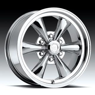 18 x8 5 Vision Legend 6 142 Chrome 6 Lug Wheels Rims