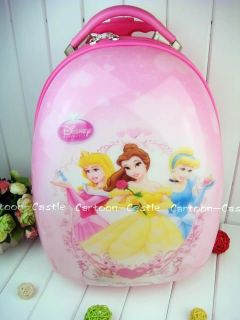 Disney Princess Bar Box Draw Luggage Pull Case Drag Bag